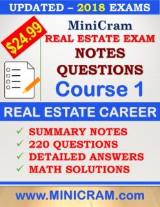 Free sample real estate exam questions